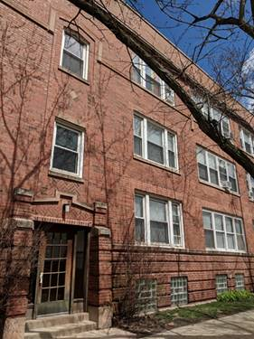 1406 W Farragut Unit 3, Chicago, IL 60640 Andersonville
