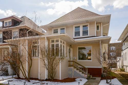 4825 W Warner, Chicago, IL 60641
