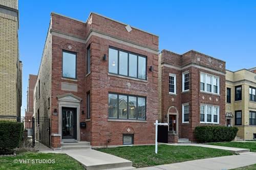 3926 N Claremont, Chicago, IL 60618 North Center