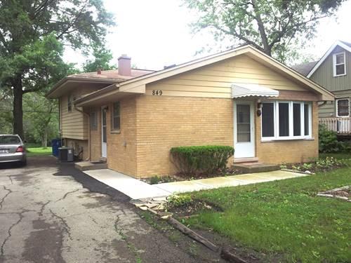 849 E Red Oak, Addison, IL 60101