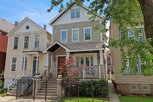 1833 W Melrose, Chicago, IL 60657 Roscoe Village