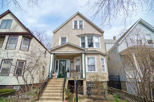 4937 N Bell, Chicago, IL 60625 Lincoln Square