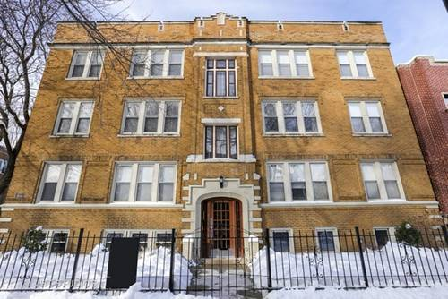 1624 W Grace Unit G, Chicago, IL 60613 Lakeview