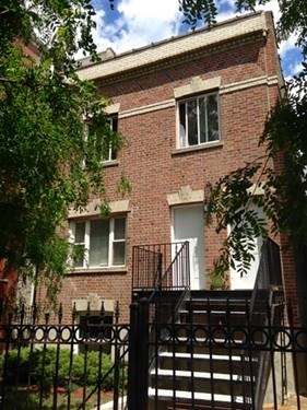 2839 N Damen Unit 1, Chicago, IL 60618 West Lakeview