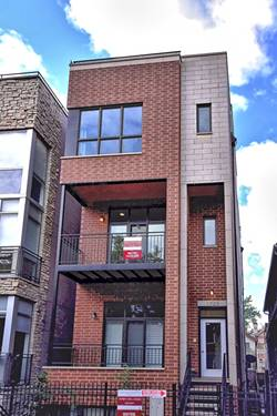 1725 W Lemoyne Unit 2, Chicago, IL 60622 Wicker Park