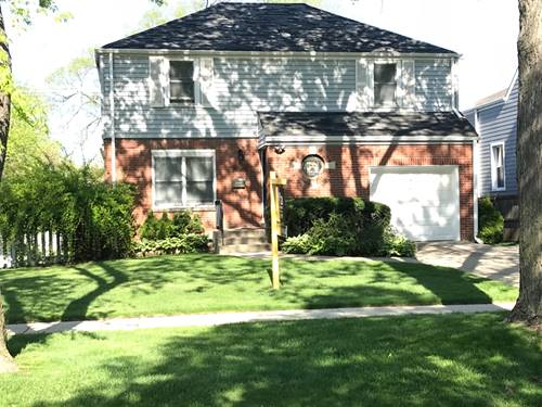 1608 Brophy, Park Ridge, IL 60068