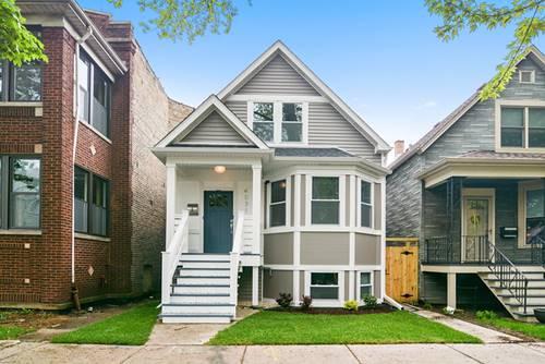 4031 N Spaulding, Chicago, IL 60618