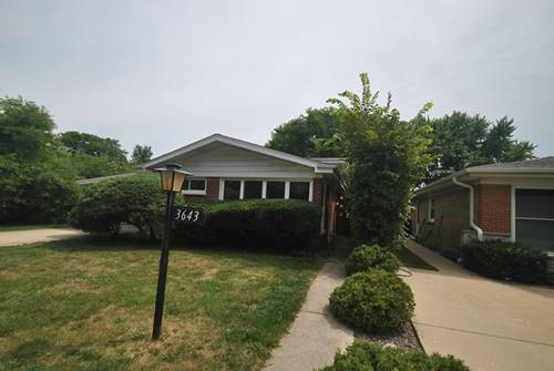 3643 Greenwood, Skokie, IL 60076