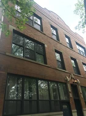 1352 N Wolcott Unit 3N, Chicago, IL 60622 Wicker Park