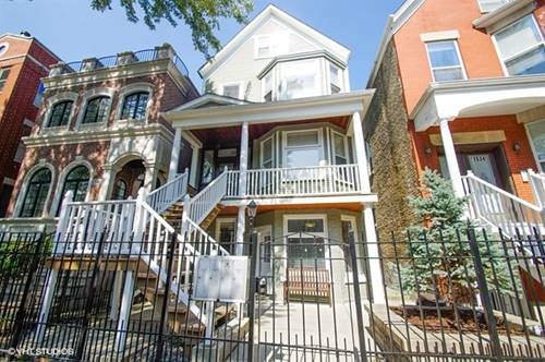 1538 W George Unit 2, Chicago, IL 60657 Lakeview