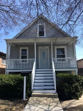 3411 N Narragansett, Chicago, IL 60634