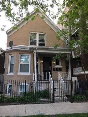 2620 N Sawyer Unit 1, Chicago, IL 60647 Logan Square