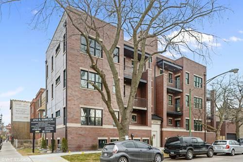 4753 N Hamilton Unit 1S, Chicago, IL 60625 Lincoln Square