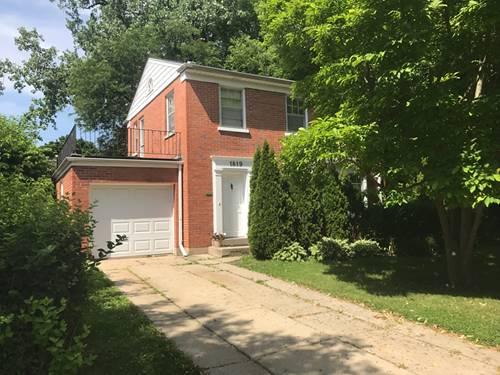 1819 Oakton, Evanston, IL 60202