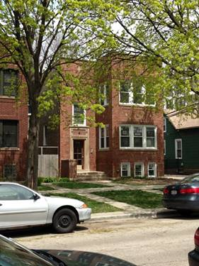 1618 W Thorndale Unit 2, Chicago, IL 60660 Edgewater