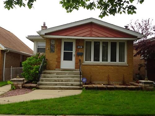 6028 S Melvina, Chicago, IL 60638