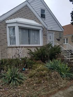4742 N Narragansett, Harwood Heights, IL 60706