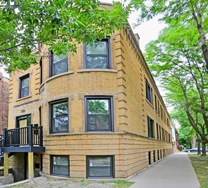 3050 W Schubert Unit 1, Chicago, IL 60647 Logan Square