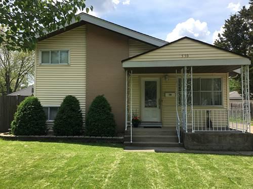 530 N Addison, Villa Park, IL 60181