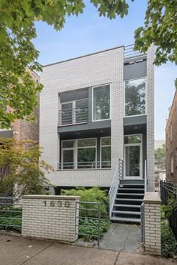 1630 N Claremont, Chicago, IL 60647 Bucktown