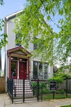 3311 N Hamilton, Chicago, IL 60618 Roscoe Village