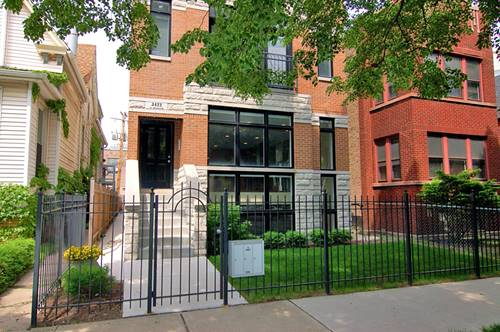 3422 N Bosworth Unit 1, Chicago, IL 60657 Lakeview