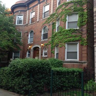 4053 N Sheridan Unit 3, Chicago, IL 60613 Uptown