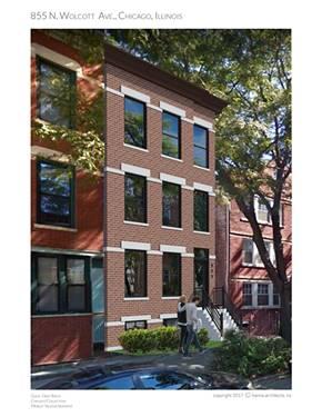 855 N Wolcott Unit 3, Chicago, IL 60622 Noble Square