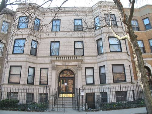 3822 N Sheffield Unit 3, Chicago, IL 60613 Lakeview