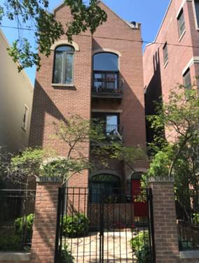 1306 W Wrightwood Unit 1, Chicago, IL 60614 West Lincoln Park