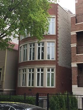 1533 W Montana Unit 2, Chicago, IL 60614 West Lincoln Park