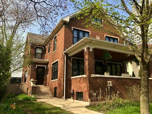 740 W Hutchinson, Chicago, IL 60613 Uptown