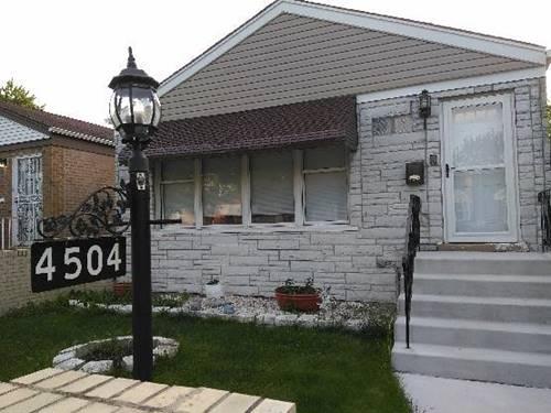 4504 S Lawler, Chicago, IL 60638