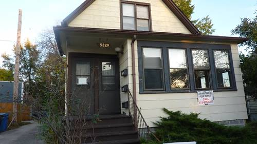 5329 N Bell Unit 1FRONT, Chicago, IL 60625
