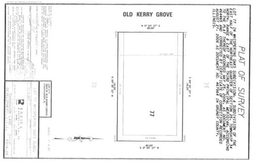 LOT #77 Old Kerry Grove, Channahon, IL 60410