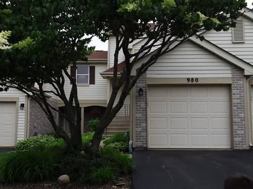 980 Butter Creek Unit 980, Hoffman Estates, IL 60169