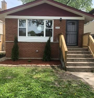 11543 S Loomis, Chicago, IL 60643