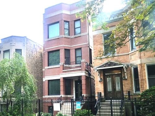 2627 N Washtenaw Unit 1, Chicago, IL 60647 Logan Square
