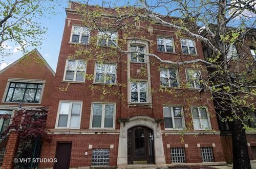 1906 W Byron Unit 3W, Chicago, IL 60613 North Center