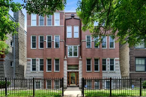 1413 W Cuyler Unit 2E, Chicago, IL 60613 Uptown