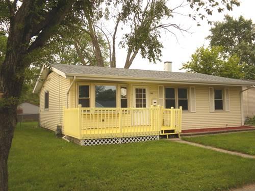 14739 S Whipple, Posen, IL 60469