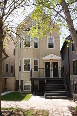 3420 N Claremont Unit 2, Chicago, IL 60618 Roscoe Village