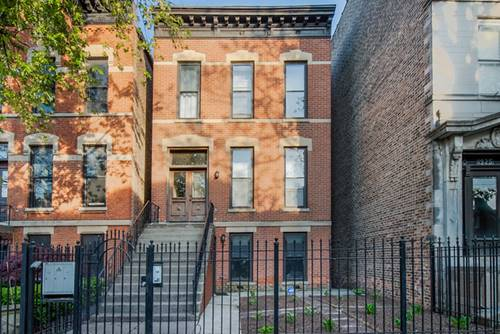 1921 W Evergreen, Chicago, IL 60622 Wicker Park