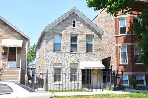 3708 S Wolcott, Chicago, IL 60609