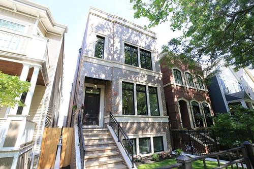 3823 N Marshfield, Chicago, IL 60613 Lakeview