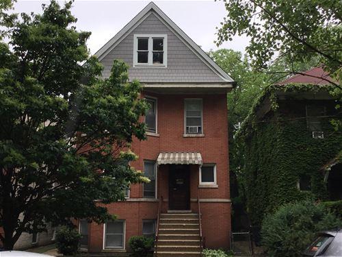 4954 N Claremont Unit 1, Chicago, IL 60625 Lincoln Square