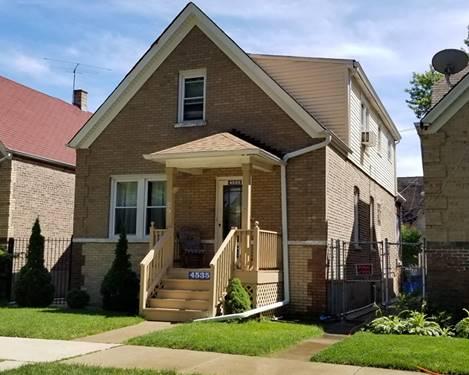 4535 W Montana, Chicago, IL 60639