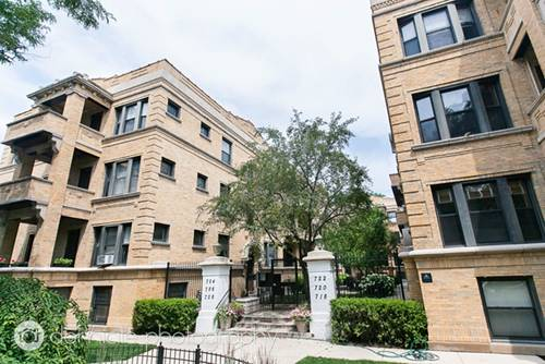 722 W Sheridan Unit 3N, Chicago, IL 60613 Lakeview