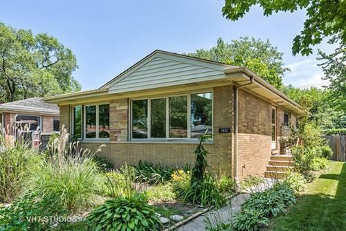 2421 Crawford, Evanston, IL 60201