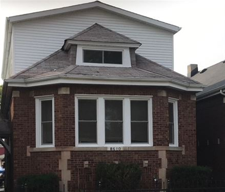 8610 S Marshfield, Chicago, IL 60620